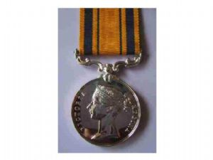 SOUTH AFRICA MEDAL NO CLASP FULL SIZE REPLACEMENT COPY